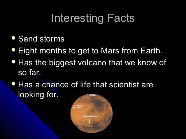Mars Facts - Digital Media Engineering